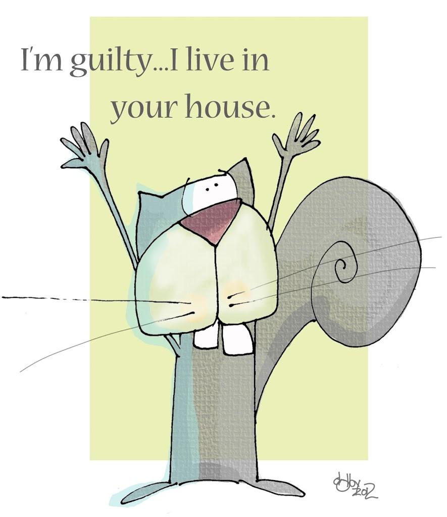 darn squirrel….