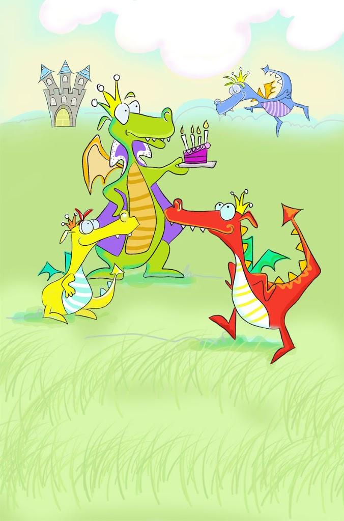 The Dragon Who Blew Bubbles…
