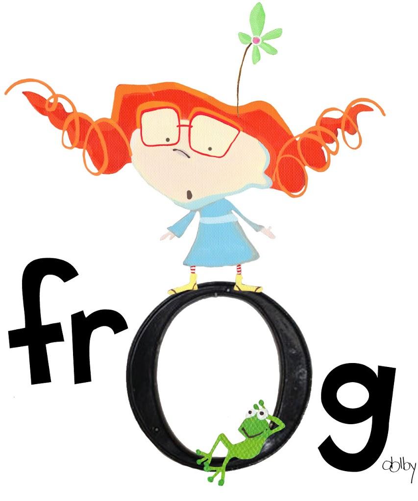 It's a frog….