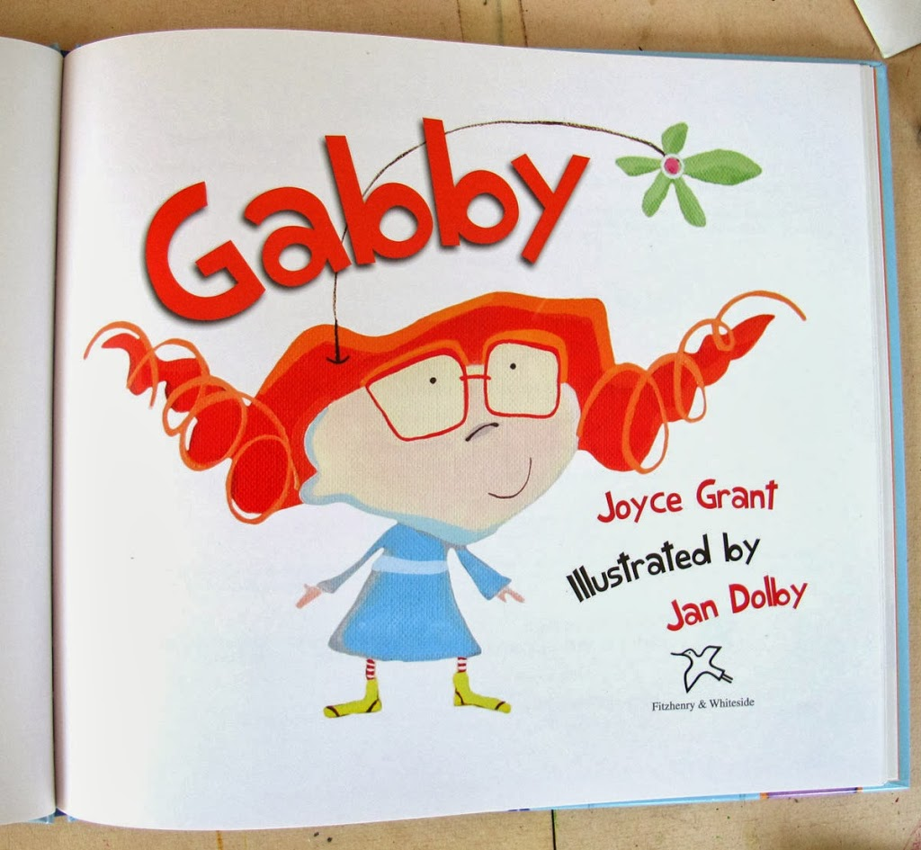 page layouts from Gabby….