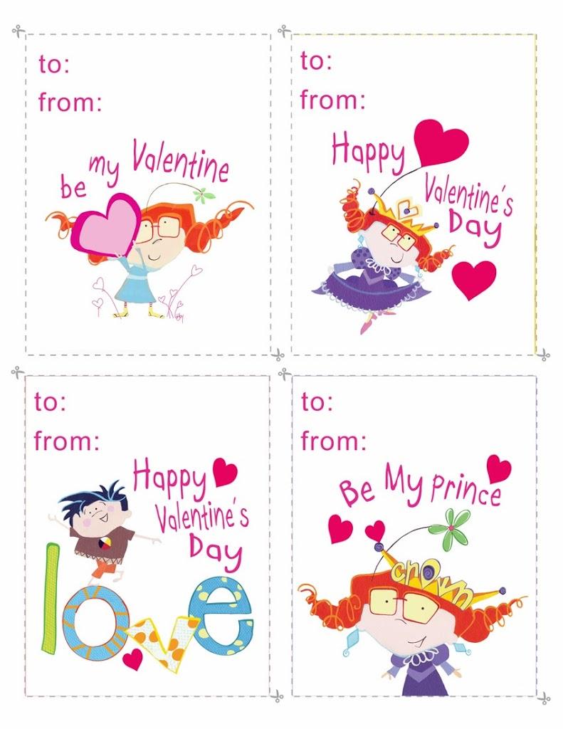 Gabby Valentine's day cards….