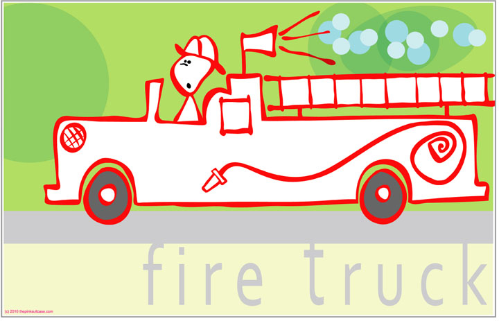 jdolby fire-engine-poster