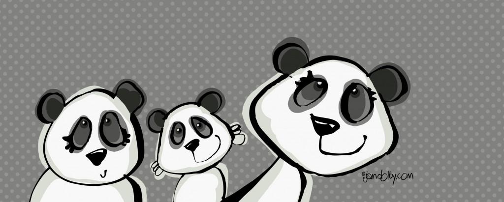 panda pencil 2