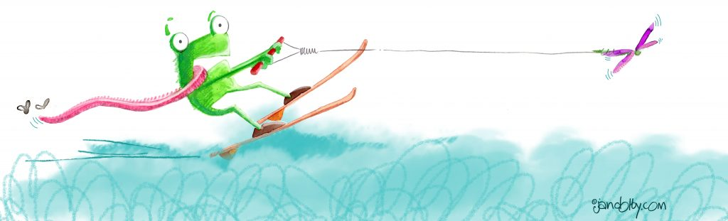 frog-water-skiinig3