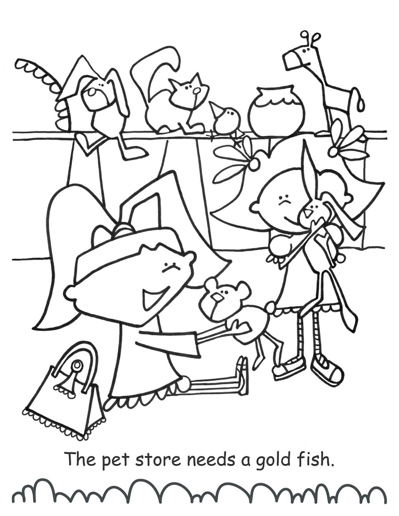 a page from my new colouring book…