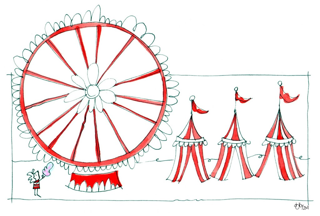still exploring the circus theme…