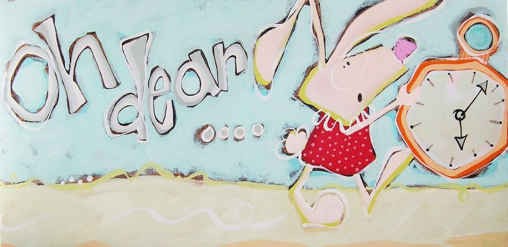 the white rabbit….