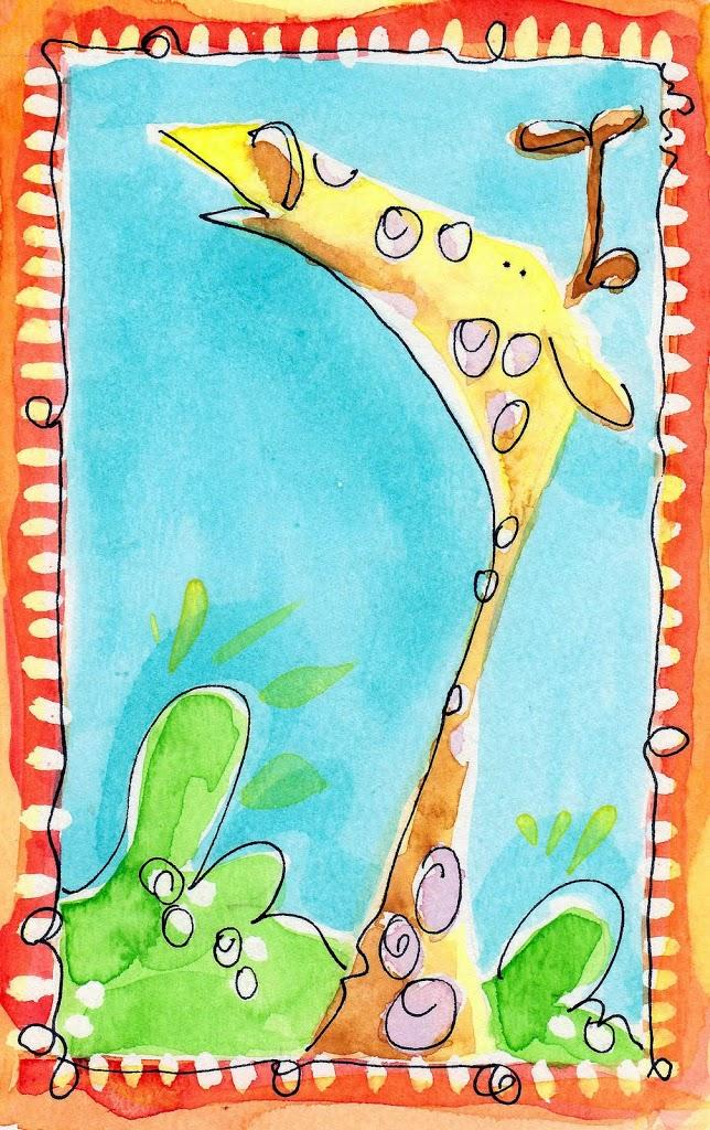 illustration friday – safari