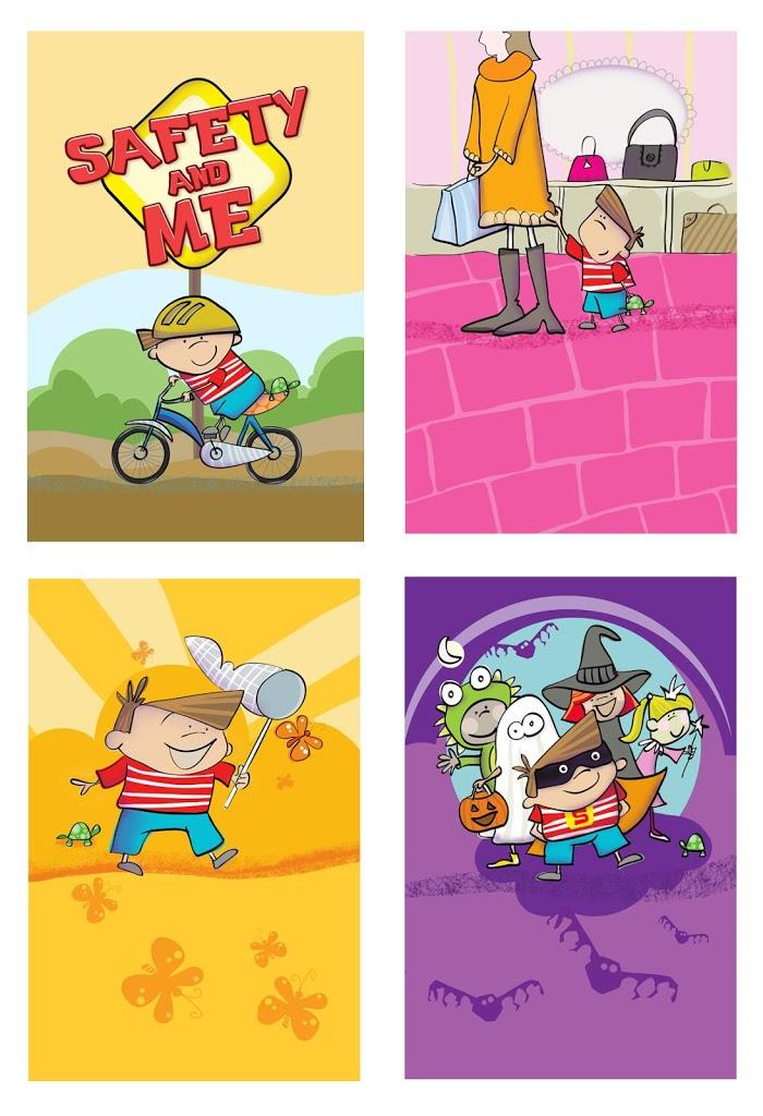 digital illustrations for ebook….
