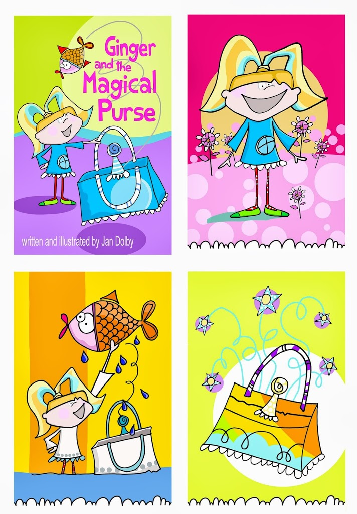 Ginger's purse adventure…..
