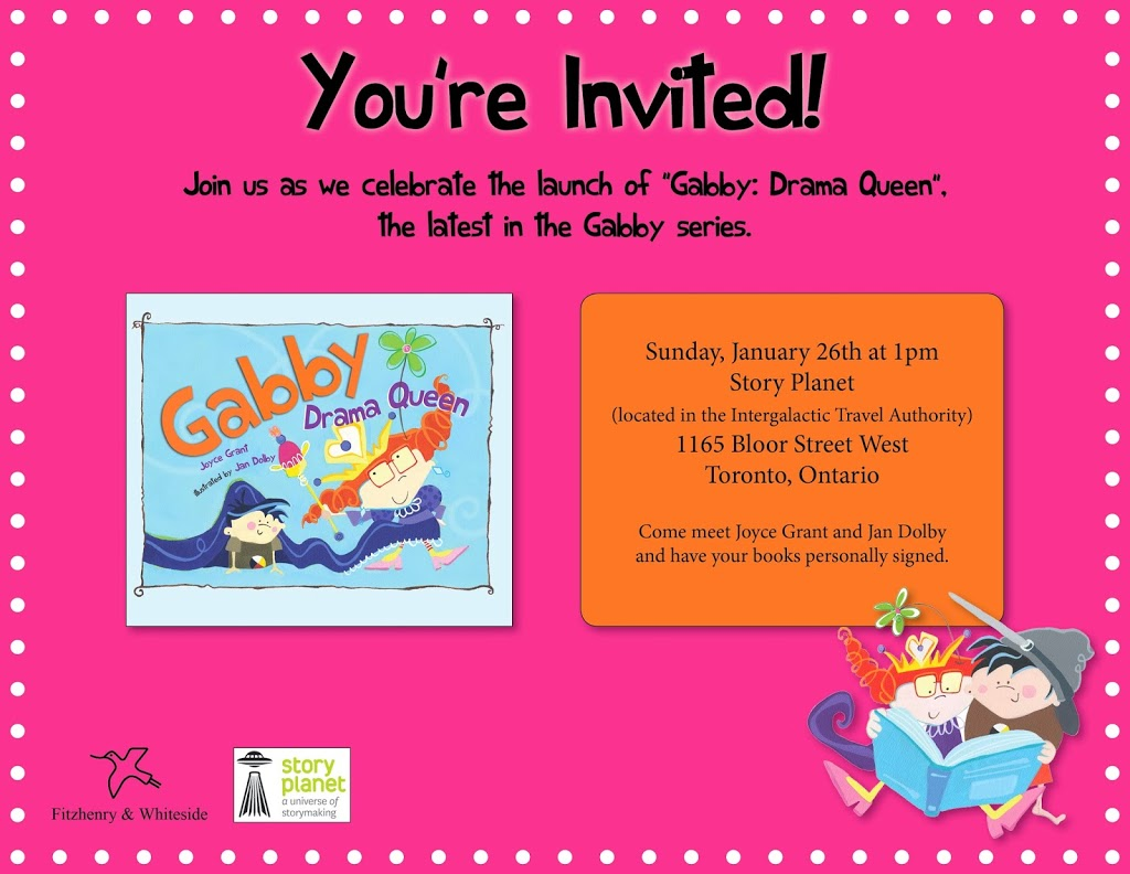 official launch of …. Gabby Drama Queen