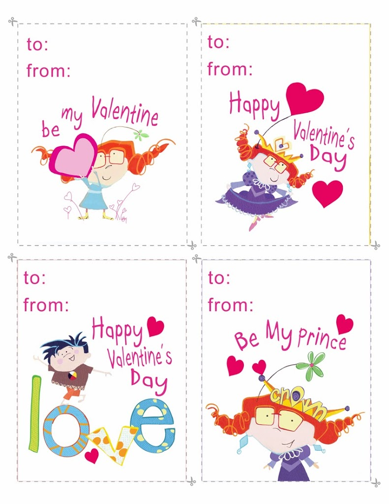 Gabby Valentine's day cards….
