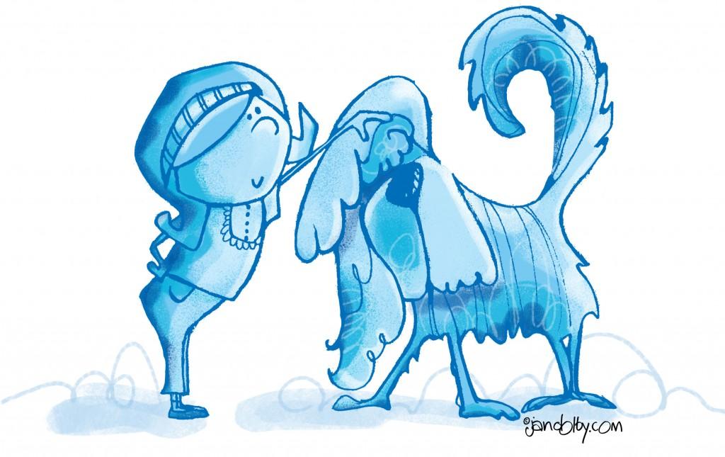 girl-and-shaggy-dog--blue223