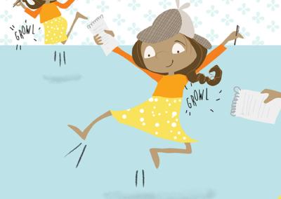 Mina illustrations