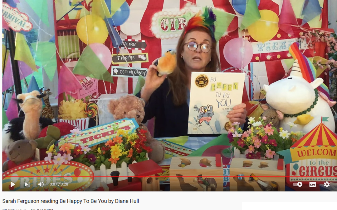 A Royal reading of Be Happy to be You